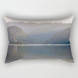Bohinj Lake Rectangular Pillow
