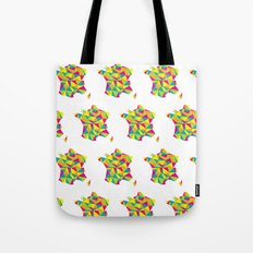 Abstract France Bright Earth Tote Bag