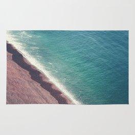 Beach Aerial II Rug