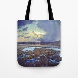 Rising Mist Tote Bag