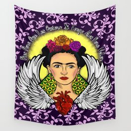 "Frida Kahlo ""Alas"" Wall Tapestry"