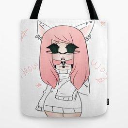 Neko Cutie Tote Bag