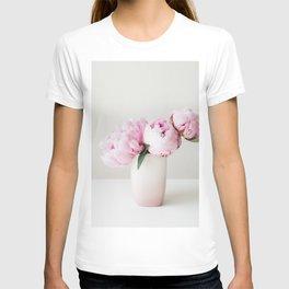 Pink Peonies 06 T-shirt