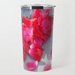 Lost a Step - Roses and Granite Travel Mug