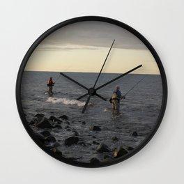 Fishermen Wall Clock