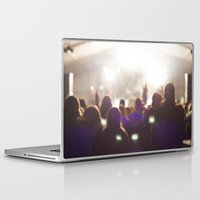 concert Laptop & iPad Skins featuring Concert by LaiaDivolsPhotography