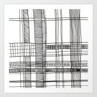 Grid 1 Art Print