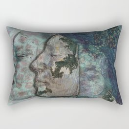Lunar Chameleon Rectangular Pillow
