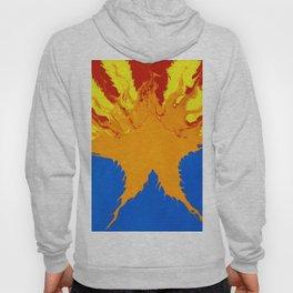 Arizona Flag (Poured Acrylic Style) Hoody