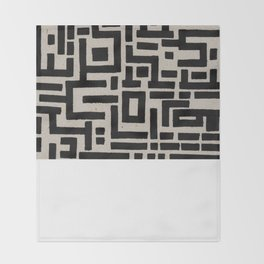 Trip Hop In The City Throw Blanket