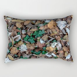 Autumnal leaves bed Rectangular Pillow