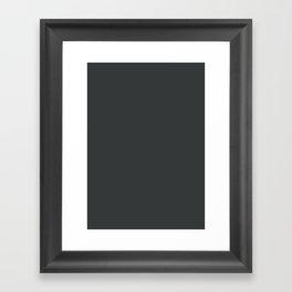 Onyx Framed Art Print