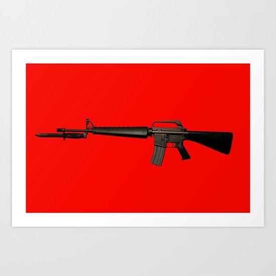 Guns In America 5 Art Print