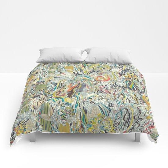 hairspray jungle Comforters