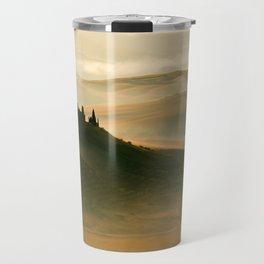 Sunrise in Val D'Orcia Travel Mug