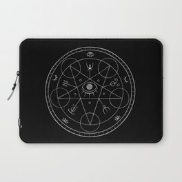 The Eye of the Witch Laptop Sleeve