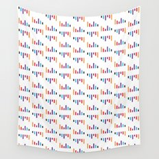 Parallel Lines Colourful #1 Wall Tapestry