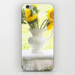 Sunflower iPhone Skin