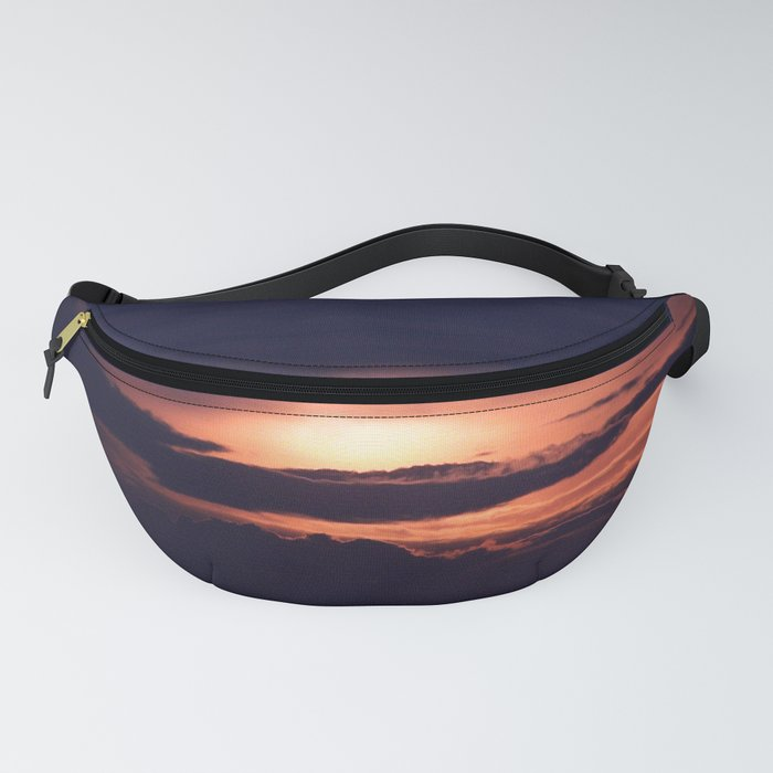 Sun and Clouds Fanny Pack