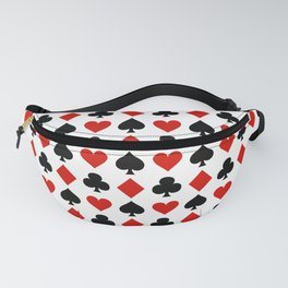 Card Suits Fanny Pack