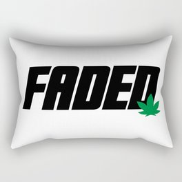 Faded Rectangular Pillow
