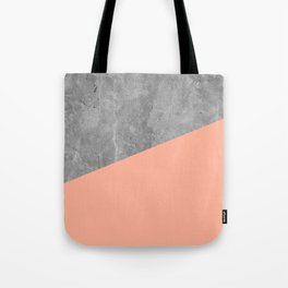 Geometry 101 Sweet Peach Pink Tote Bag