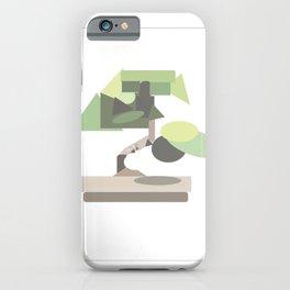 Geo Bonsai iPhone Case