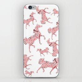 Arabian Horse Words iPhone Skin