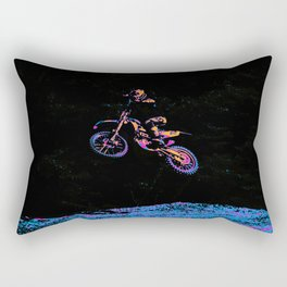AIR TIME - Motocross Sports Art Rectangular Pillow