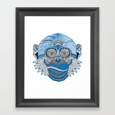 Monkey Mind Framed Art Print