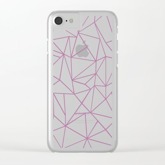 Ab Outline Bodacious Clear iPhone Case