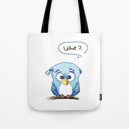 Funny owl Tote Bag