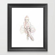 dream chaser Framed Art Print