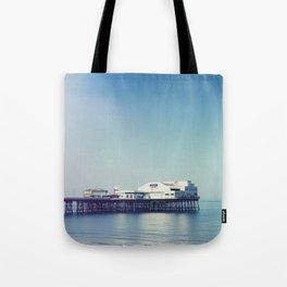 Summer pier Tote Bag