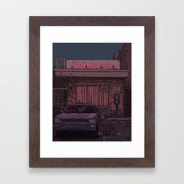 Kenmore Framed Art Print
