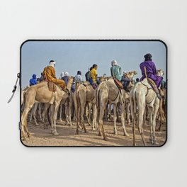 Nomads and camels - Niger, West Africa Laptop Sleeve