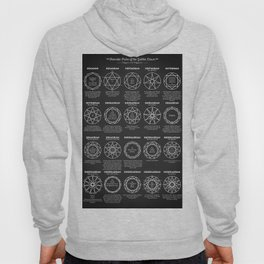 Polygons And Polygrams Hoody