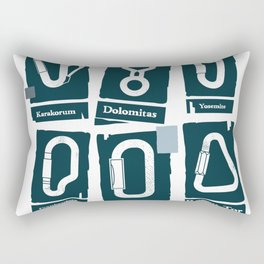 crags Rectangular Pillow