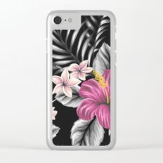 FLOWERS II Clear iPhone Case