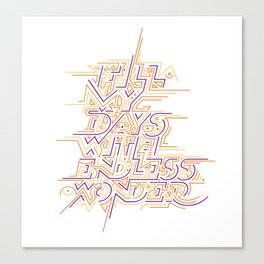 Endless Wonder Canvas Print
