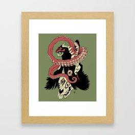 nesmyslný Framed Art Print