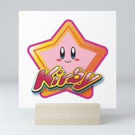 Kirby the Superstar (Icon) Mini Art Print