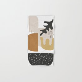Abstract Shapes  2 Hand & Bath Towel