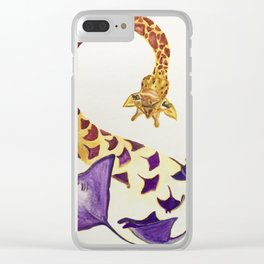 Manta-morphisis Clear iPhone Case