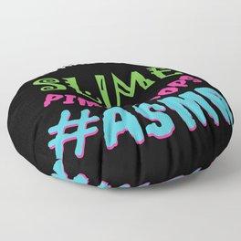 ASMR Sounds Floor Pillow