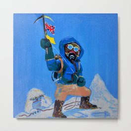 Everest 1953: Top of the World Metal Print
