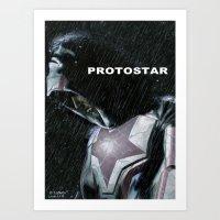 Protostar Art Print