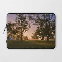 Foggy morning Laptop Sleeve