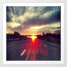 Highway to Heaven Art Print