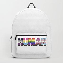 Human pride Backpack